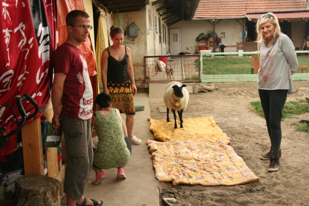Míša, Alex, Bětka, Dupina a Maruška